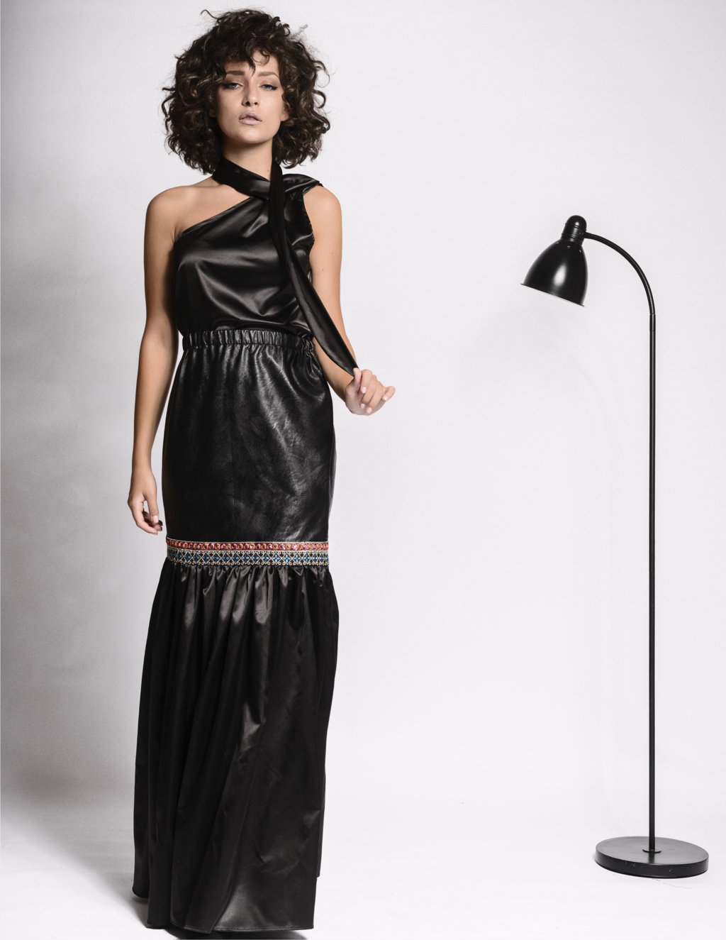 Beverly Black Skirt