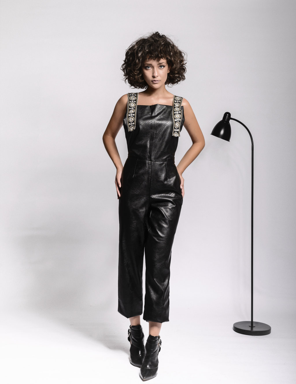 Joanne Leather Overall