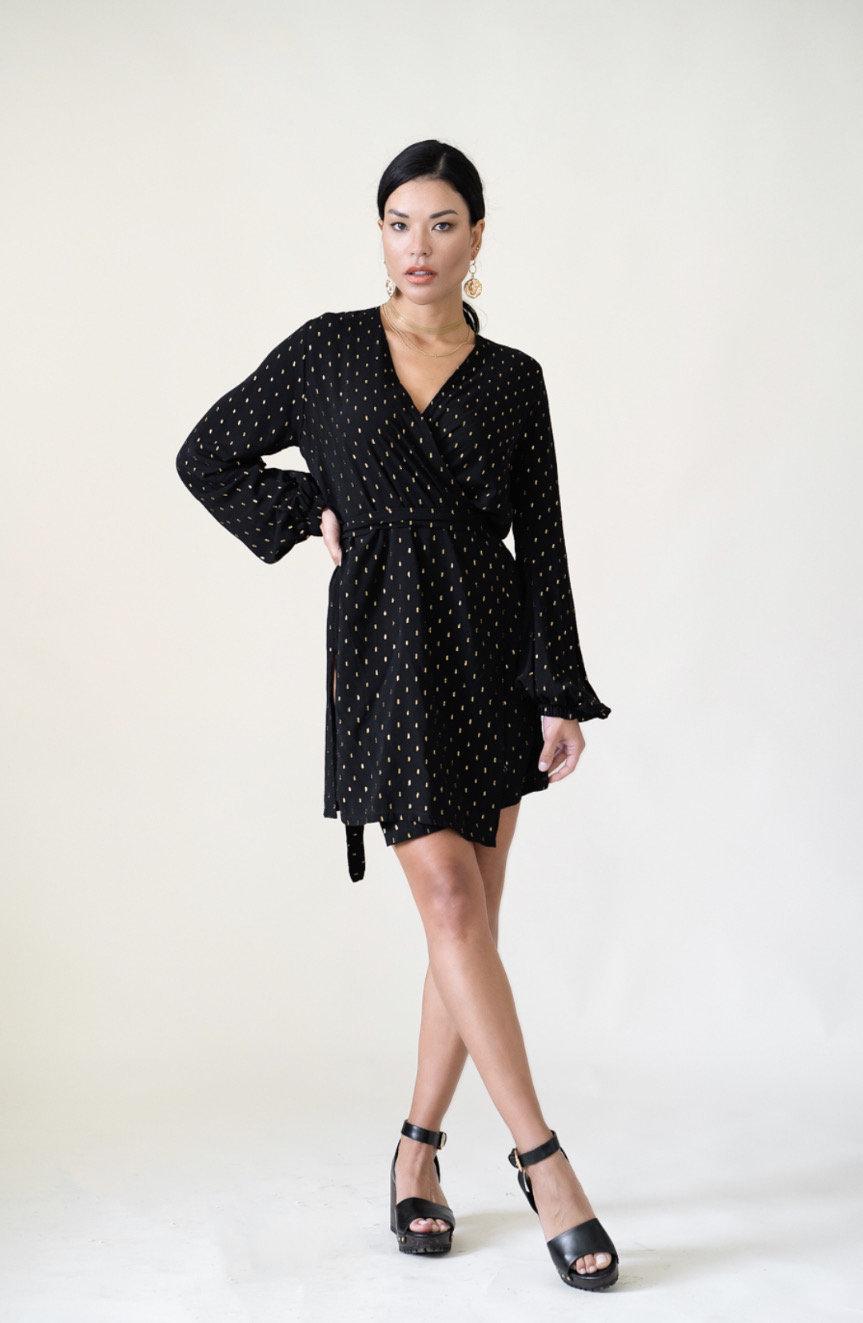 Lucia Wrap Dress