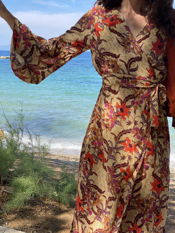 Jade Kimono/Dress